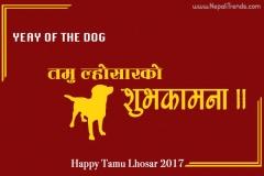 Tamu Lhosar Wish Card