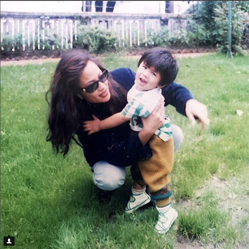 Anmol KC Childhood pics