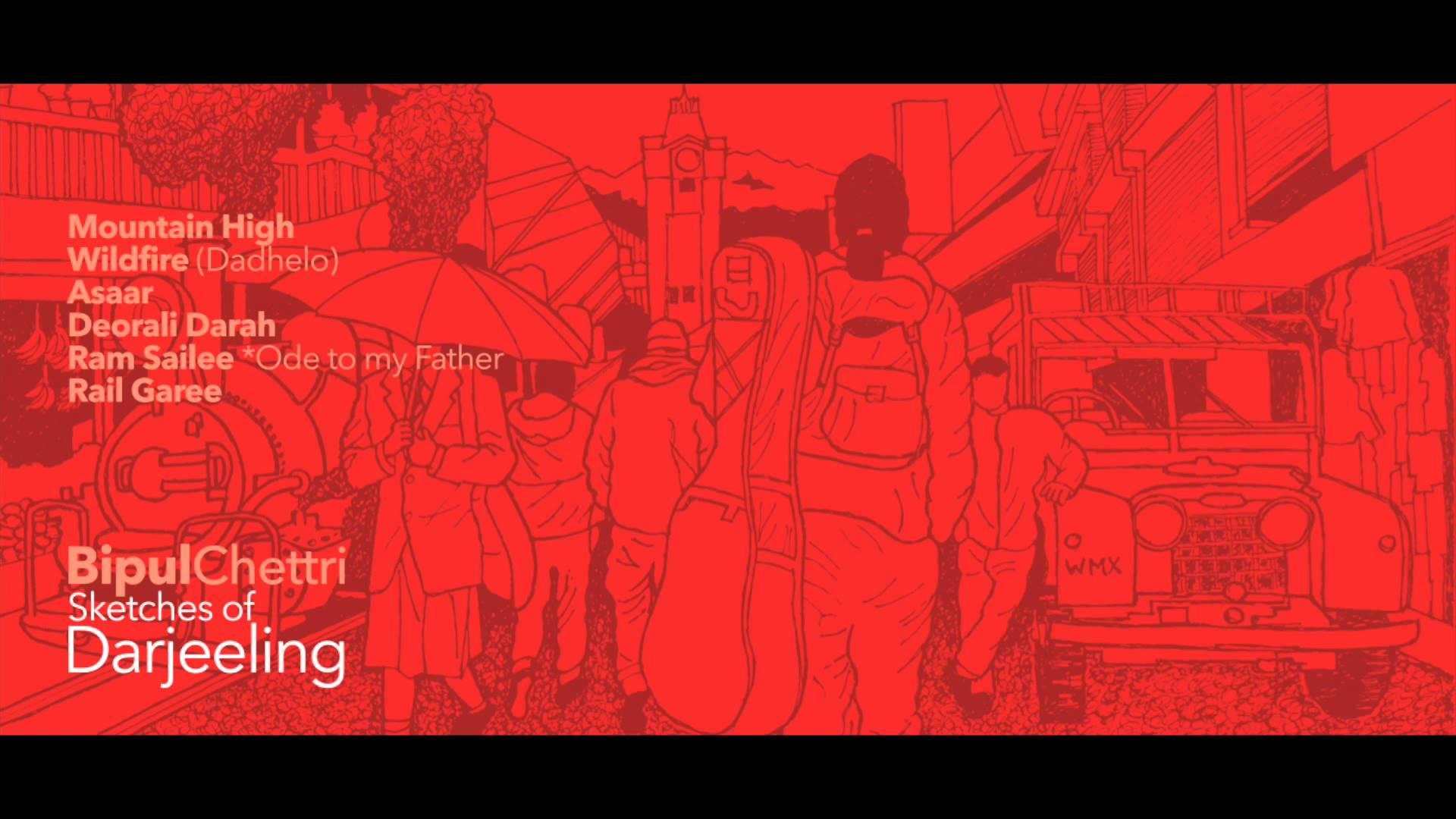 Bipul Chettri album sketches of Dargeeling