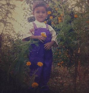 Swoopna Suman childhood photo - Nepali Trends