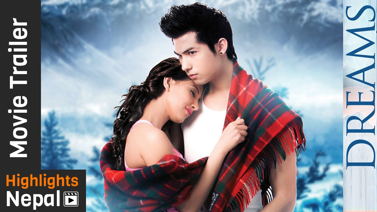 Dreams movie poster featuring Samraghyee and Anmol