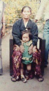 melina rai childhood photo