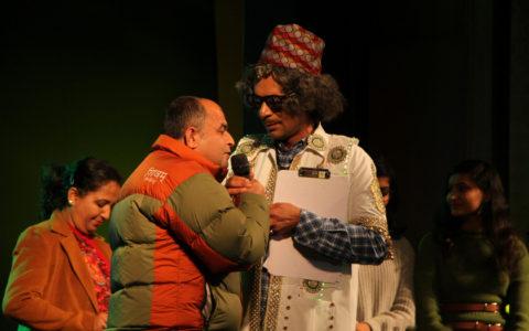 Sunil Grover in Nepal