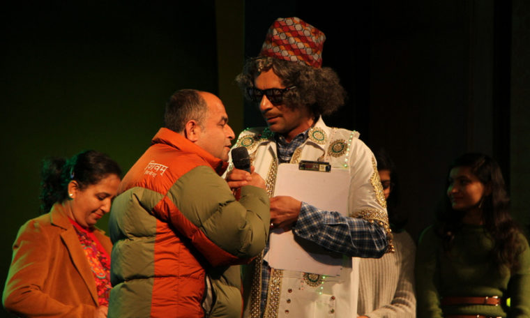 Sunil Grover in Nepal