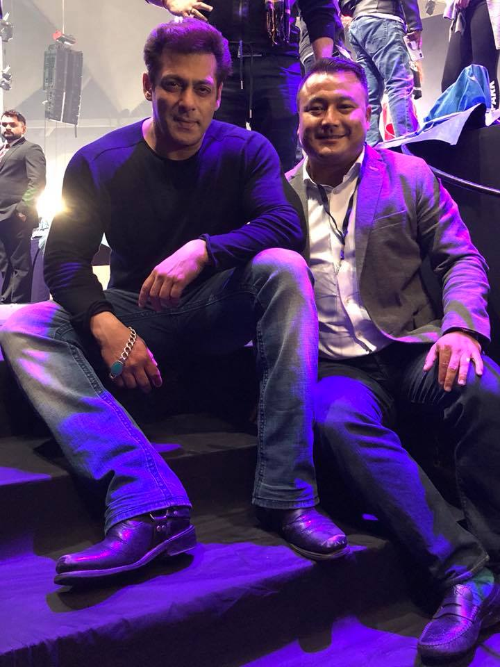 Salman Khan In Nepal