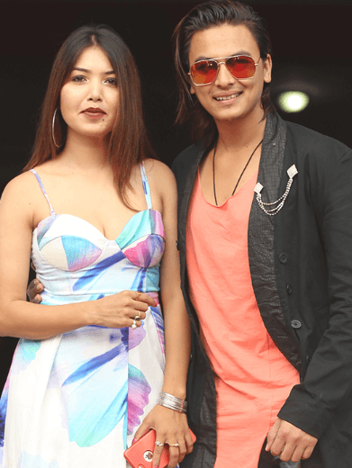Paul Shah and Pooja Sharma