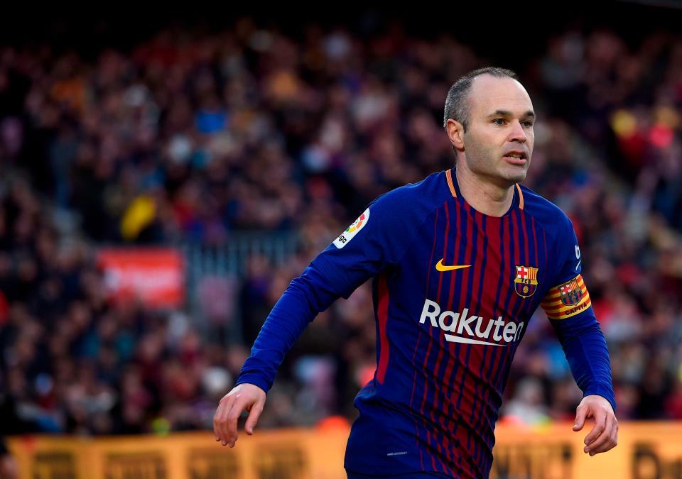 Iniesta to China