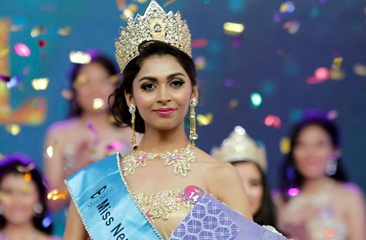 Nikita Chandak Miss Nepal-2017