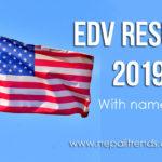 EVD result 2019