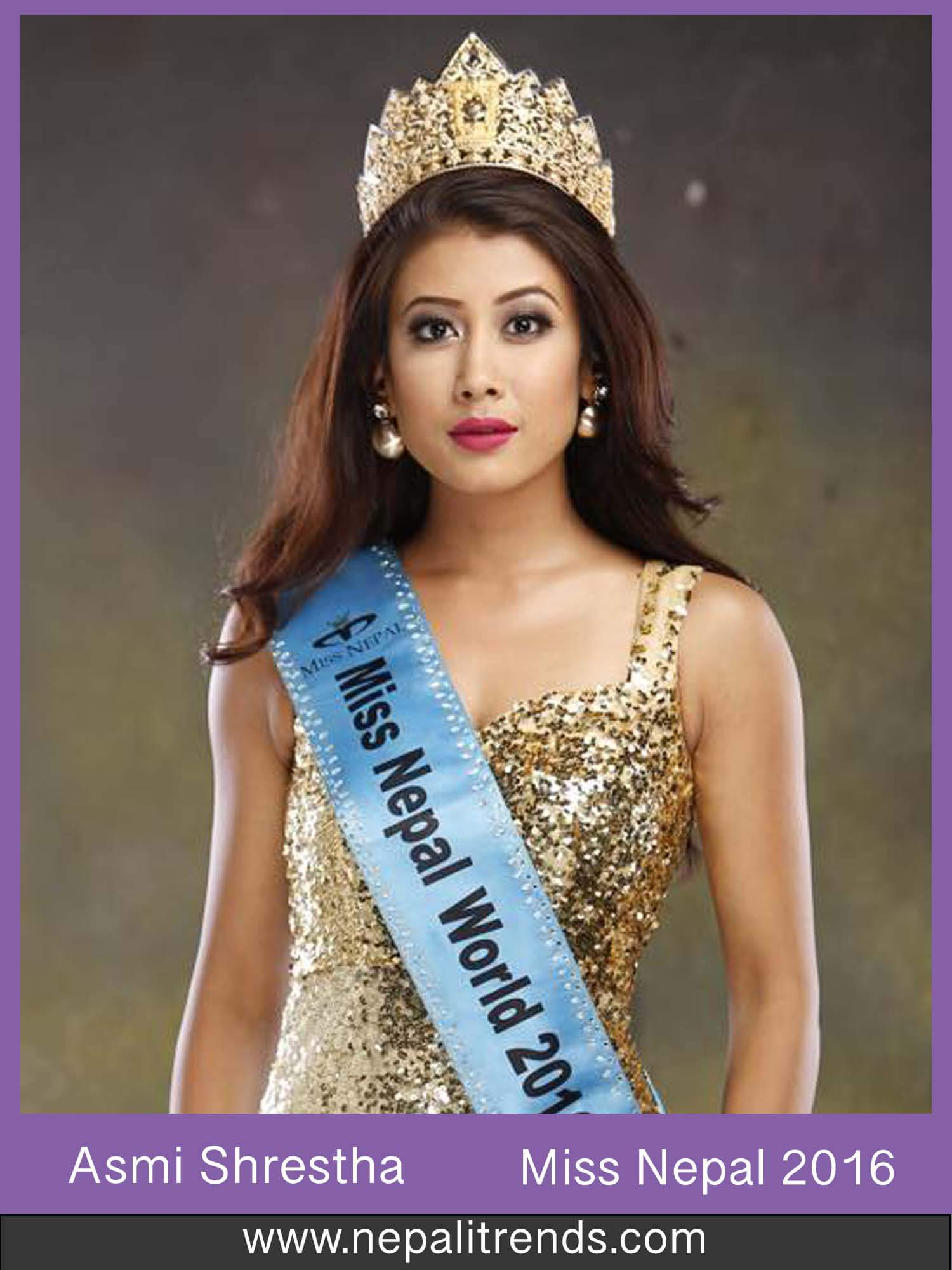 Asmi Shrestha Miss Nepal 2016