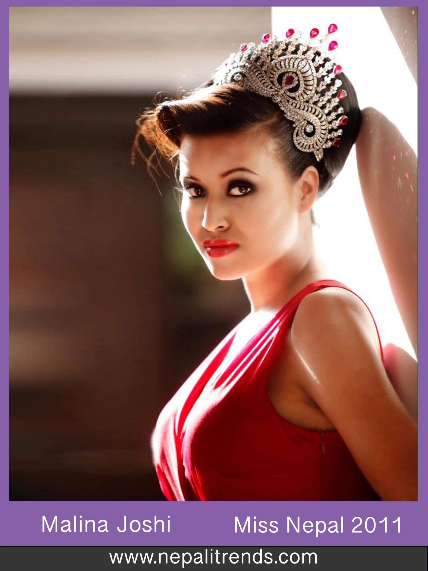 Malina Joshi Miss Nepal 2011