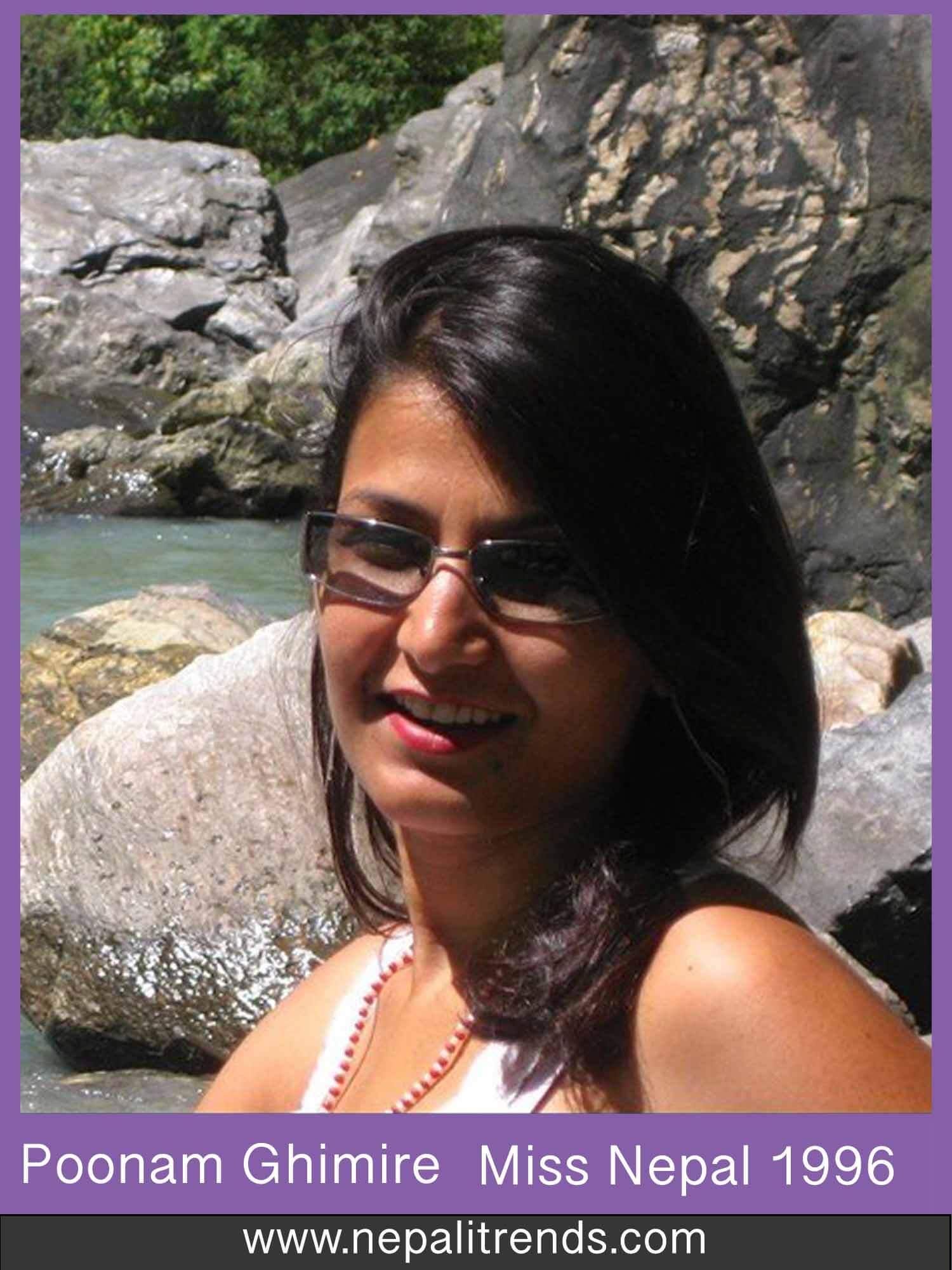 Poonam Ghimire Miss Nepal 1996