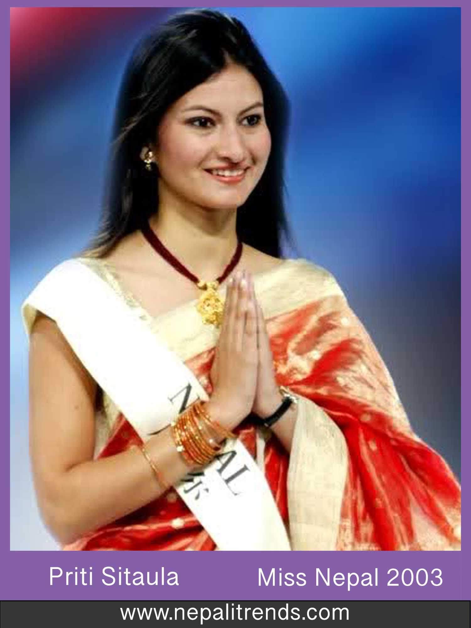 Priti Sitaula Miss Nepal 2003