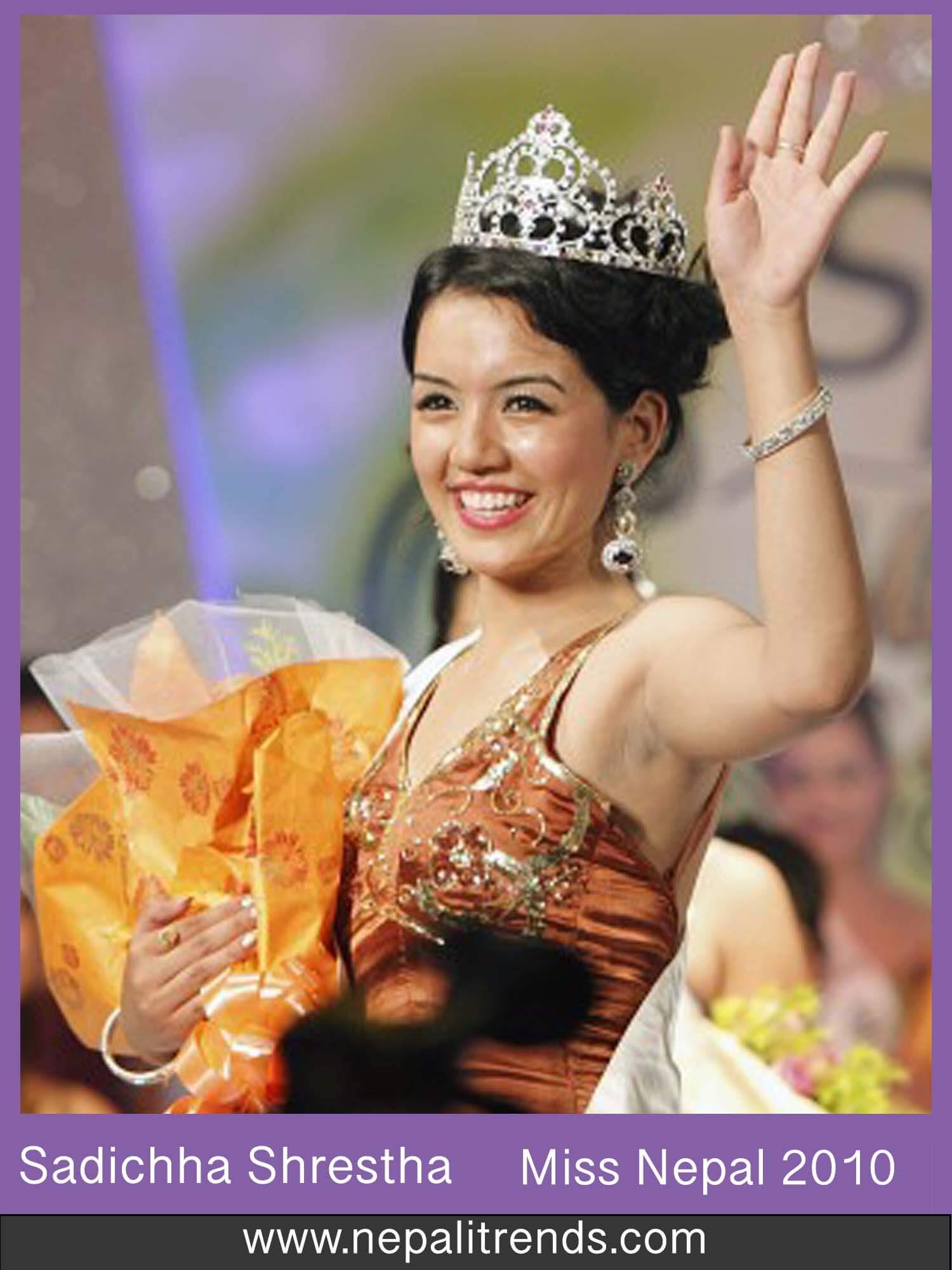 Sadichha Shrestha Miss Nepal 2010