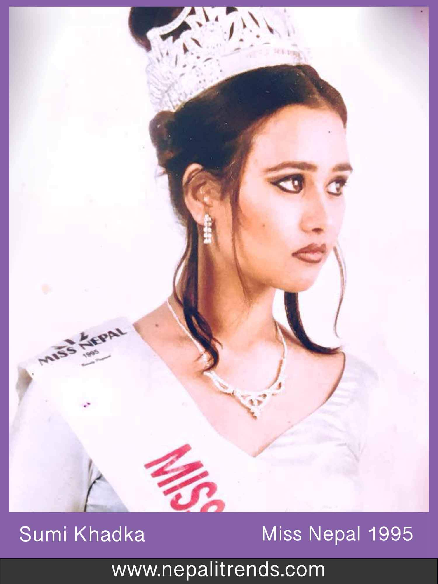 Sumi Khadka Miss Nepal 1995