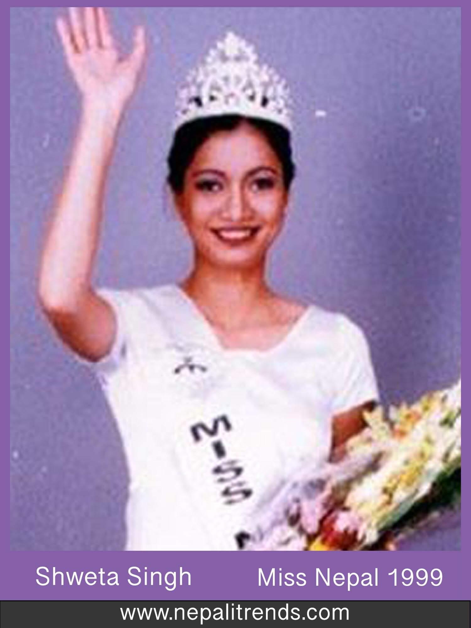 Shweta Singh Miss Nepal 1999