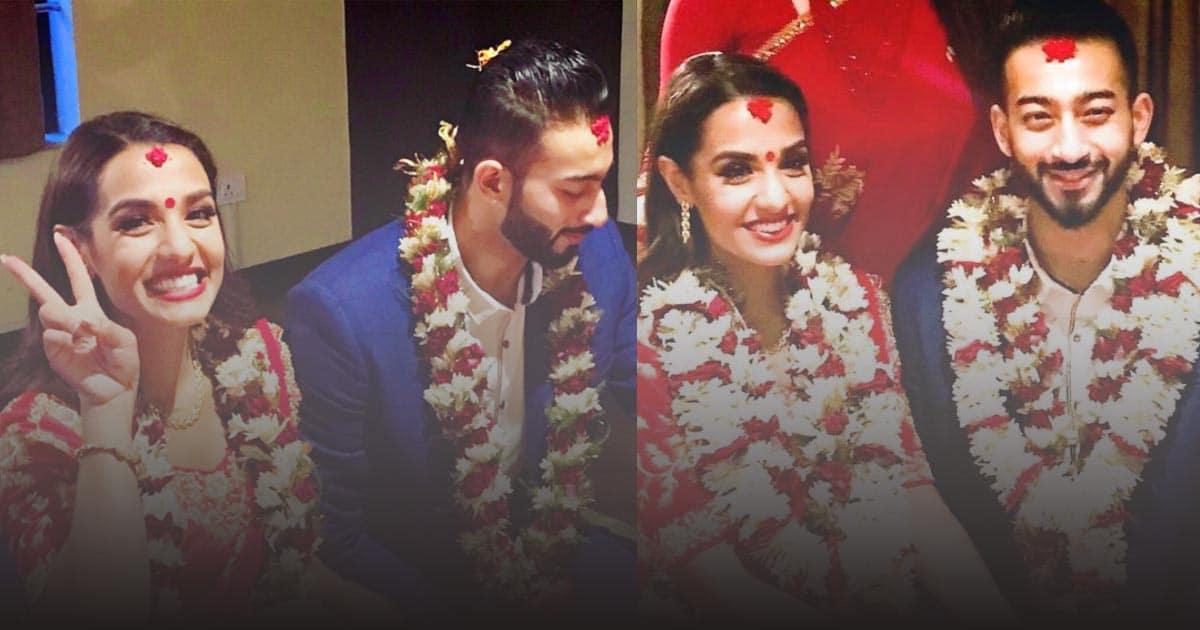 Priyanka and Ayushman engagement