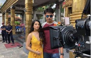 Suhana Thapa and Anmol KC