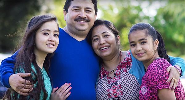Nicky Karki Family