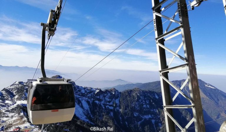 Kalinchowk Cable Car