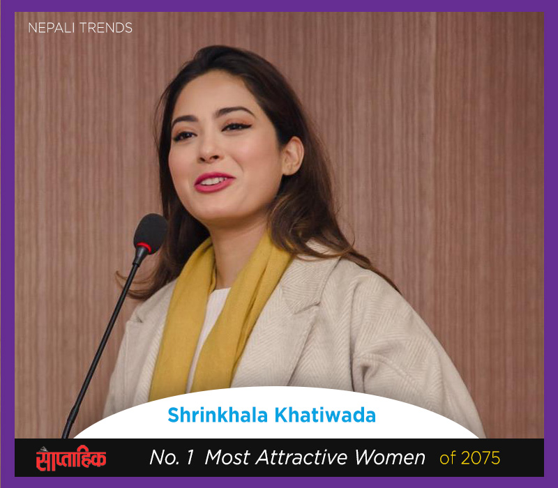 shrinkhala khatiwada most attractive nepali women
