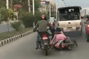 Accident in Nepal