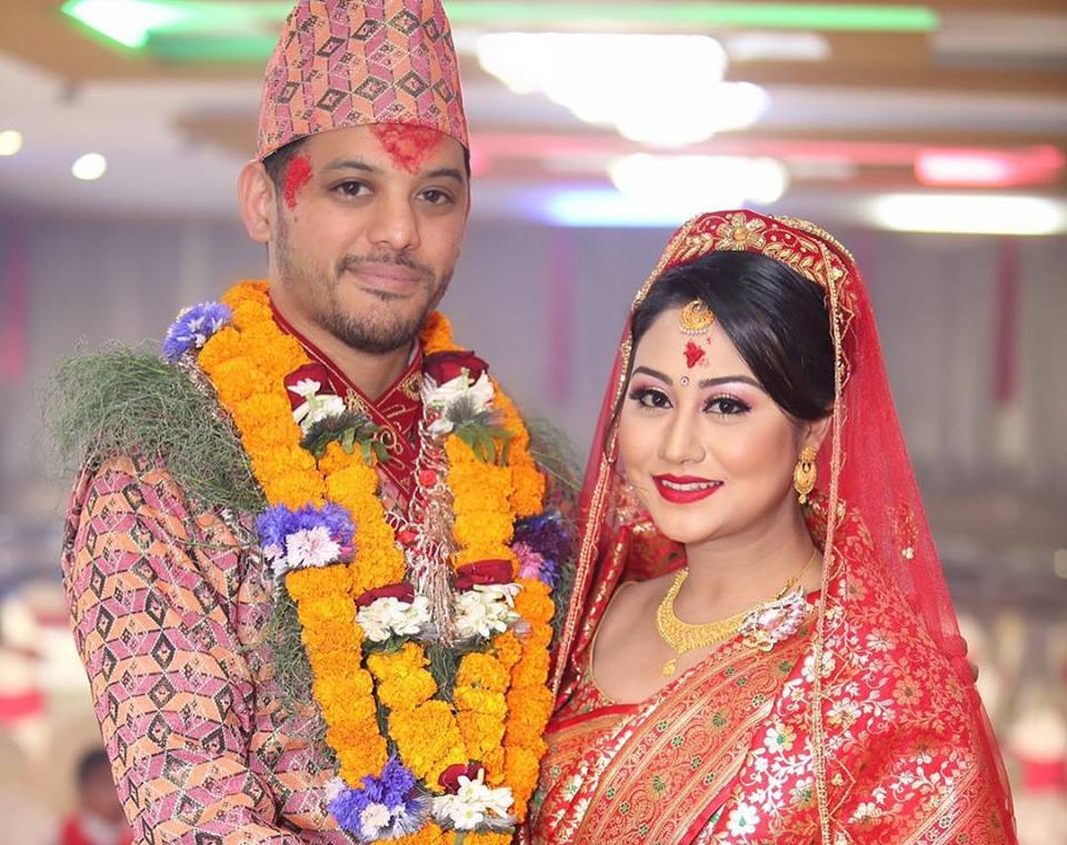 Ashishma with her Husband