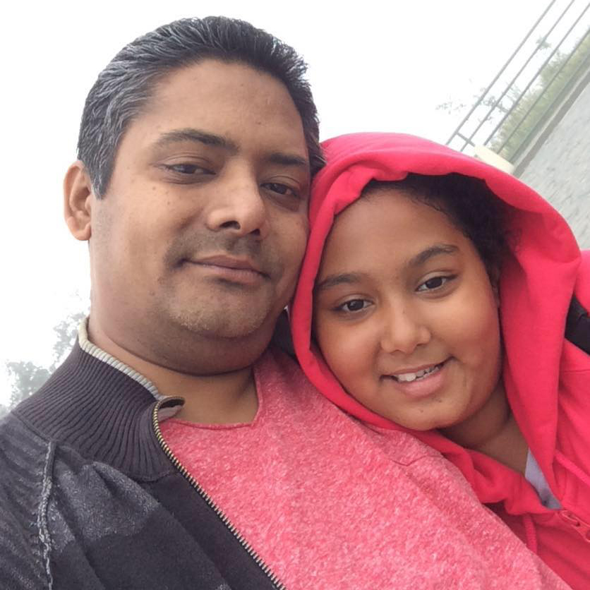 Nikita Poudel First Husband and Daughter