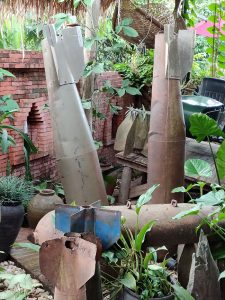Bomb Shell in Laos