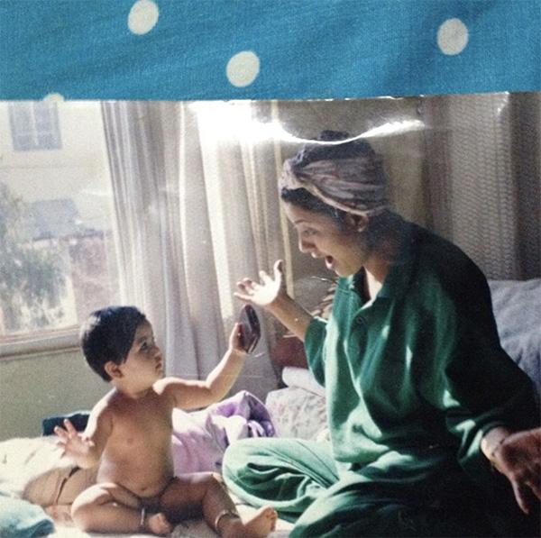 Karishma Manandhar with her daughter