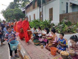 Monks in Luang Prabang