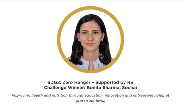 Zero Hunger winner