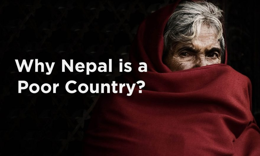 why nepal is poor country
