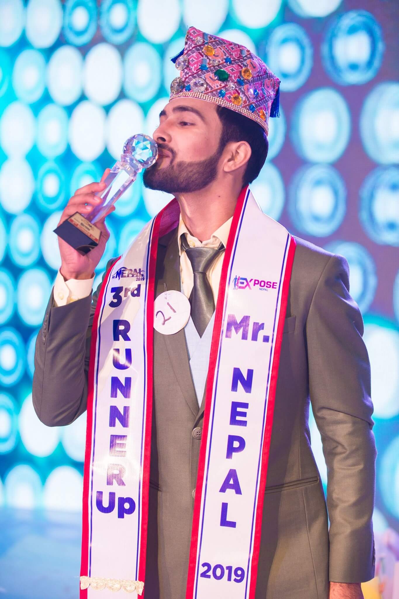 3rd Runner Up Prince Abhi