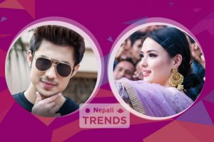 Anmol KC and Jassita Gurung in Anti hero
