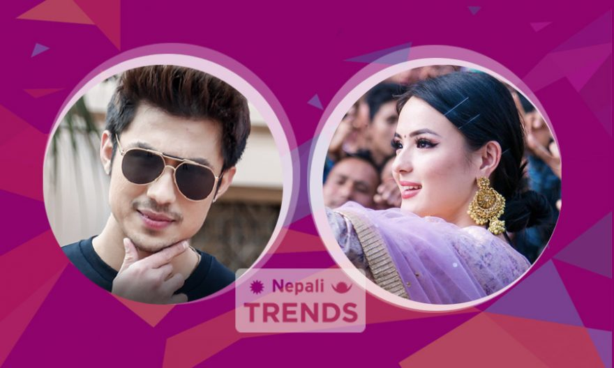 Anmol KC and Jassita Gurung in Anti hero