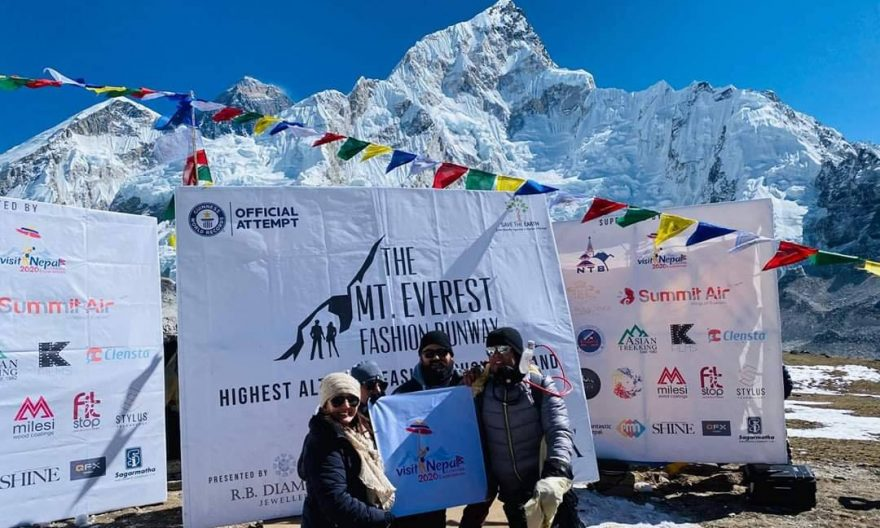 The Mount Everest Fashion Runway1