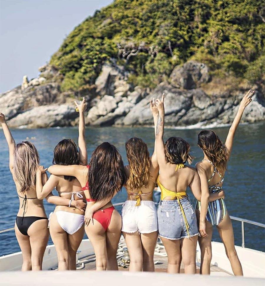 priyanka karki in bikini in Thailand