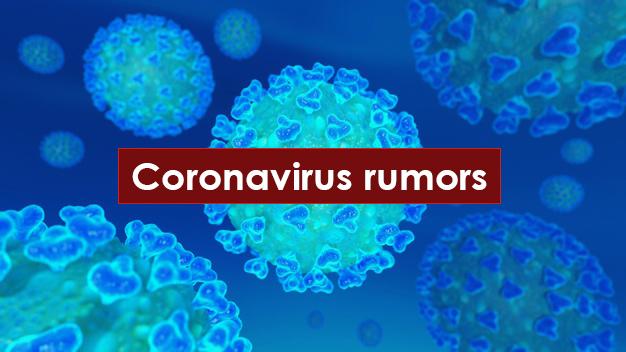 coronavirus rumors