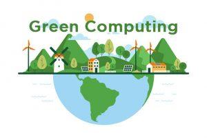 green computing concept