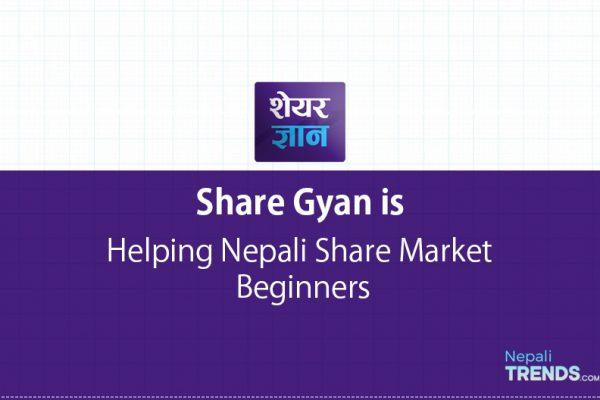 Share Gyan is helping Nepali Share Market beginners